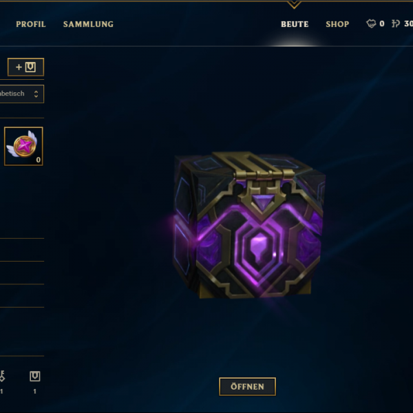 lvl 30 account lol - Hextech Truhe